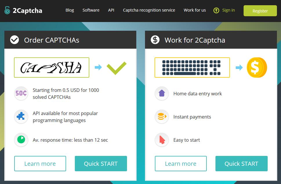 Заработок на 2Captcha