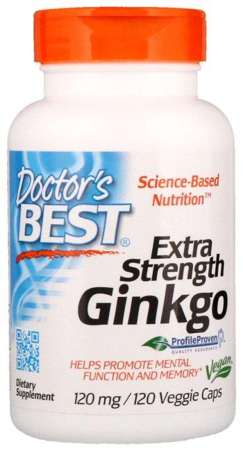 Гинкго билоба - добавка для мозга
